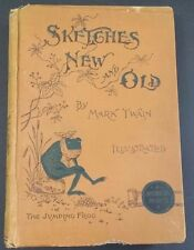 "Mark Twain ""Sketches New and Old"" Illustrated Stories 1893 Book"