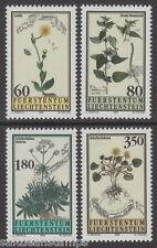 LIECHTENSTEIN - 1995 Medicinal Plants (4v) - UM / MNH