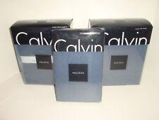 Calvin Klein Modern Cotton Body Indigo Queen Sheet Set Flat Fitted Pillowcases