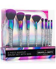 9 Pc Makeup Brush Set plus cosmetic bag Macy's brand NEW!