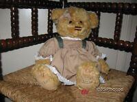 Metro Soft Toys UK Girl Bear Hailey Limited Edition 10 Inch Plush