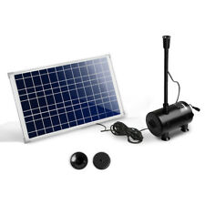 Gardeon 100w Solar Powered Water Pond Pump Outdoor Submersible Fountains