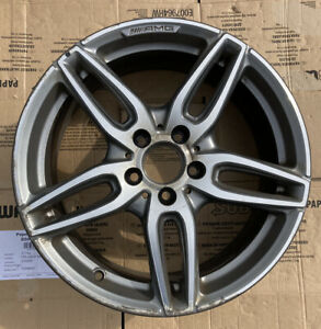 Mercedes Benz A Class W176 AMG Diamond Cut Alloy Wheel A1764010700 7.5Jx18H2