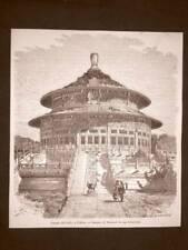 Pechino nel 1863 Il Tempio del cielo Cina