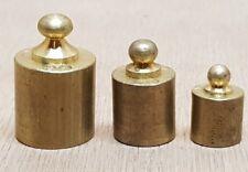 poids lot de 3 poids Y.P 5g, 10g, 20g  mesure de Balance Roberval