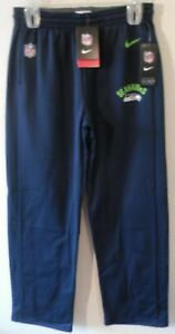 NWT Nike Seattle Seahawks Youth Sideline Performance Warm-Up Pants XL Navy $60