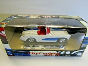 Newray 1:43 Scale Diecast Model Chevrolet Corvette Convertible 1957 - New