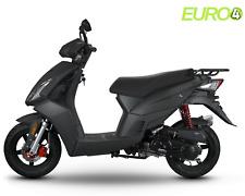 Motorroller Sport Roller Scooter 50 CCM - 45 KmH SPIDER SCHWARZ MATT 50 CCM E4