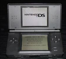 Nintendo DS Lite BLACK FULLY TESTED WORKING GOOD CONDITION