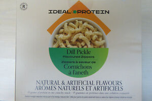 IDEAL PROTEIN DILL FLAVOURED ZIPPERS (4 BOXES)