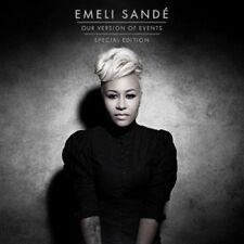 EMELI SANDE - OUR VERSION OF EVENTS (SPECIAL EDITION)  CD  20 TRACKS POP  NEU