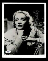 Marlene Dietrich PSA DNA Coa Signed 8x10 Photo Certified Autograph