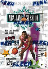 1995-96 Fleer NBA Jam Session Factory Sealed Hobby Box Look For Michael Jordan