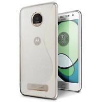 Handy Hülle Motorola Moto Z Ultra Case Silikon Cover Schutz Tasche Transparent