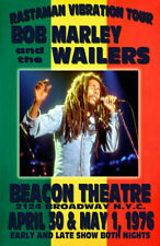 BOB MARLEY REPLICA *BEACON THEATRE* 1976 CONCERT POSTER