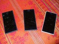 FÜR BASTLER - Handy Smartphone NOKIA LUMIA 735 - Display gesprungen!