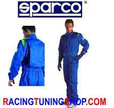 TUTA KART SPARCO INDOOR K-1 TAGLIA L 54/56 - KARTING SUIT FOR RENTAL SIZE LARGE