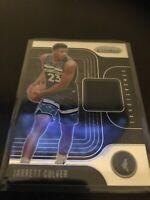 Panini Prizm Jarret Culver Jersey Relic RC Twolves 19-20