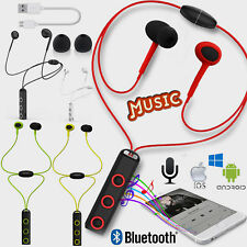 Magnetic Bluetooth 4.1 Wireless In-Ear Stereo Sports Headphone Earphone Headset