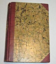 FANCHON THE CRICKET or La Petite Fadette by George Sand (1891) rare 3/4 leather
