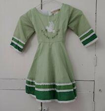 Well Dressed Wolf Daydream Green Dress White Dove Girls 5