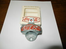 New COCA COLA Wall Mount Starr X Stationary Bottle Opener Cast Iron IN BOX
