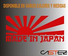 PEGATINA sticker made in japan jdm drift honda toyota vinilo decal vinyl VINILO