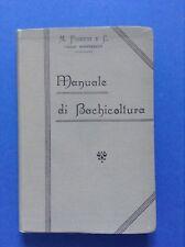Fossati, Manuale di bachicoltura, Casale Monferrato, 1900, Bachi da seta