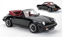 1:12 PREMIUM CLASSIXXS PORSCHE 911 CARRERA 3.2 CABRIOLET 1986 BLACK 10252 NEW