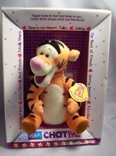 "1999 Disney Winnie The Pooh Chat Pal Tigger 11"" Plush Animated Interactive 3+"