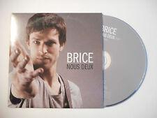 BRICE : NOUS DEUX ♦ CD SINGLE PORT GRATUIT ♦