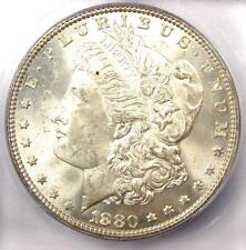 1880-P (1880) Morgan Silver Dollar $1 - ICG MS65 - Rare in MS65 - $660 Value!