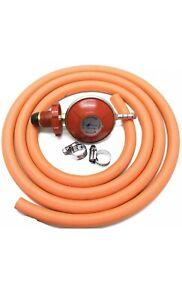 Hand Wheel Propane Regulator 2m Hose Kit Fits Red Calor Gas & Flogas Cylinder