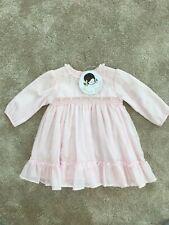 Sarah Louise Pretty Pink Dress 6 Months