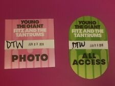 Young the Giant & Fitz and the Tantrums Vip All Access + Photo Pass New Detroit