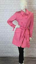 Imper Trench Coat rose T 3- L - 40 Vêtement Femme occasion très bon état