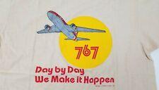 New listing Vintage Original Boeing T Shirt Medium 767 Airplane Aircraft
