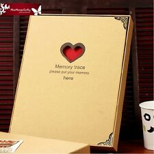 """Memory Trace"" Luxury DIY Photo Album Baby Mommy Book Wedding Polaroid Album"