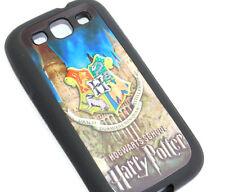 for Samsung Galaxy S3 / SIII - Harry Potter Hogwarts School Hard TPU Gummy Case