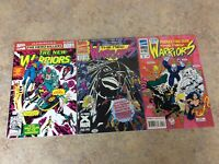 NEW WARRIORS ANNUAL #2,3,4  LOT OF 3 COMIC NM 1992-1994 MARVEL