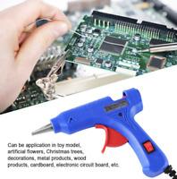 Pro 20W Hot Melt Glue Gun & 20pcs Sticks Heater Electric Art Craft Repair Tool