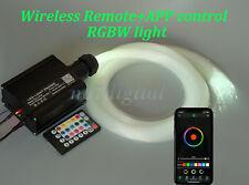 New star fiber optic light kit remote & APP control DIY ceiling LIGHT RGBW LED