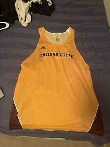 Arizona State Mens Large Singlet Track and Field Racing Athletic Running Adidas