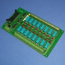 ADLINK 16-CHANNEL 120VAC RELAY OUTPUT BOARD ACLD-9185 REV. C