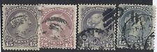 Canada 1868 Large Queen 15c colour varieties #29, 30 Used