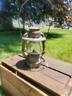 Rare Vintage Dietz Vesta B&M Boston Maine Railroad RR Lantern With Etched Globe