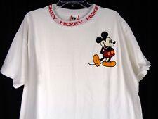 Vtg 90's Disney Mickey Ringer Tee Shirt Size XL Spell Out