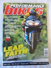 Performance Bikes - August 1998 - TL1000R - Ducati 916 - ZX 7R