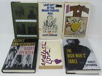 SCOTT SPENCER 6 Book Lot Set HC PB 1st Editions Endless Love Men In Black