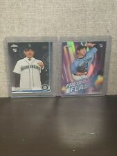 2019 Topps Chrome Basebal Yusei Kikuchi + FRESHMAN FLASH - Seattle Mariners RC